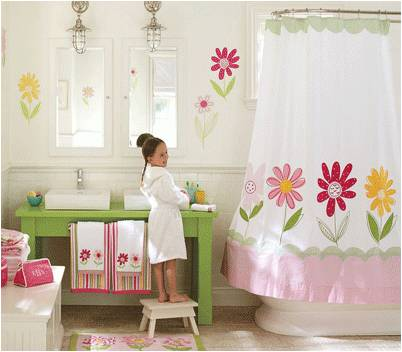 Decorating Tips For Kids Bathrooms