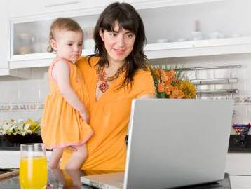 Several Tips for Working at Home with Kids