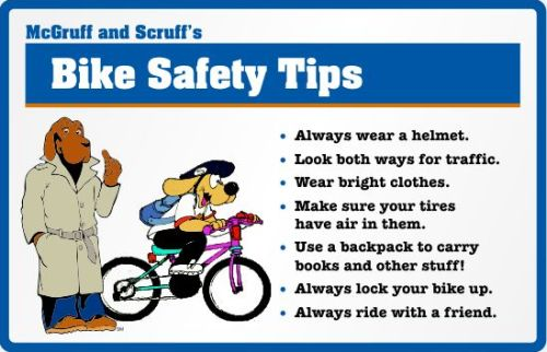 Bike Safety Rules For Kids