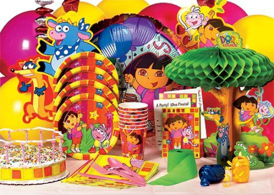 Dora Birthday Party Games For A Toddler