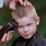 Cut Child's Hair Clippers