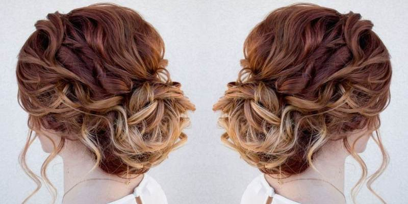 Bouffant Top with a prosaic disorderly bun