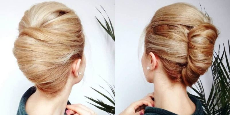 Classic Chignon Up do with a French twist