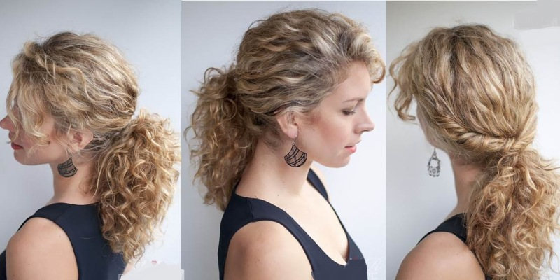 Classic Curly Ponytail