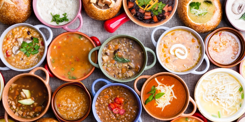 Types Of Soups