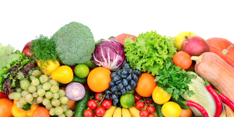 Eat Fresh Fruits and Vegetables everyday