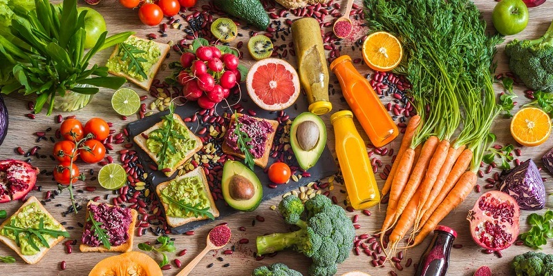 Eat Healthy Food to Live a Healthy Life
