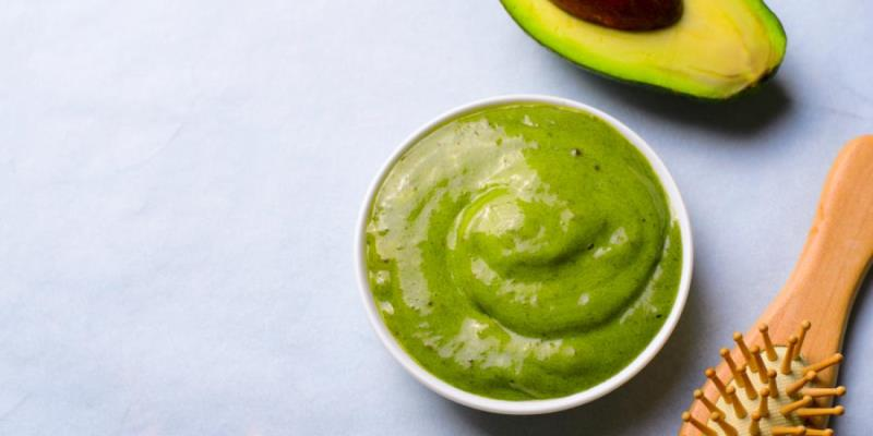 Avocado Mask for Frizzy Hair