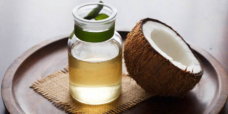 Coconut Oil for Frizzy Hair